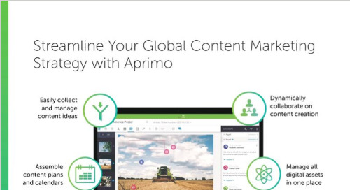 Streamline Your Global Content Marketing Strategy with Aprimo