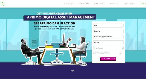 Aprimo Digital Asset Management Product Tour