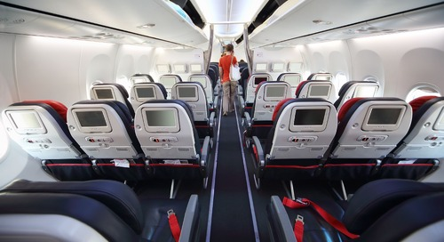 Smaller Access Components Make a Big Impact In Aircraft Seating Design