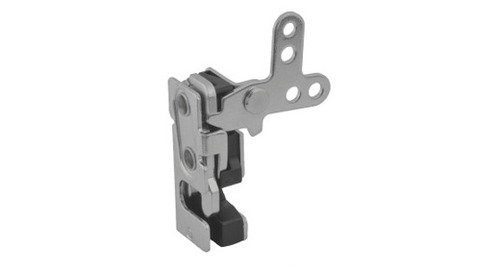 Noise & Vibration Resistant Rotary Latch In Stainless Steel