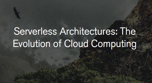 Serverless Architectures: The Evolution of Cloud Computing