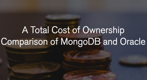 Organizations are saving 70%+ by switching from Oracle to MongoDB
