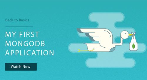 Back to Basics 2: Your First MongoDB Application
