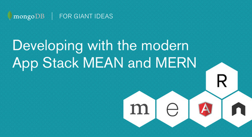 Developing with the modern App Stack: MEAN and MERN (with Angular2 and ReactJS)