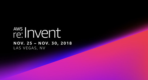 Thanks for a great AWS re:Invent