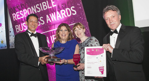 2017 Northern Ireland Responsible Business Award Winners