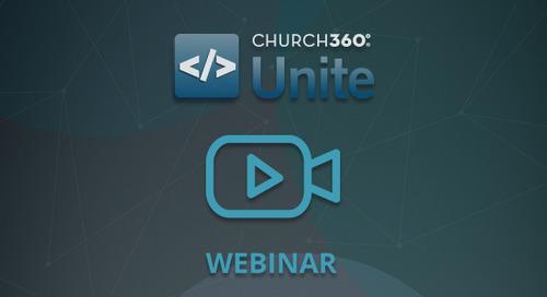 Launching a Church Wide Bible Study with Church360° Unite