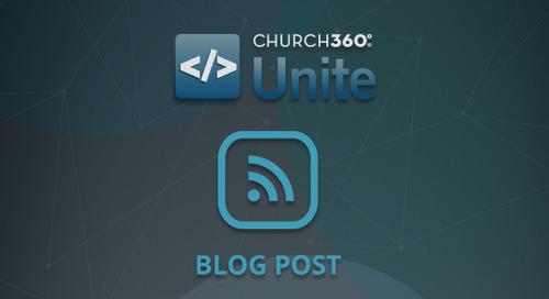 Church360° Unite Redesign