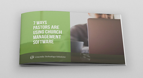 7 Ways Pastors Are Using Church Management Software