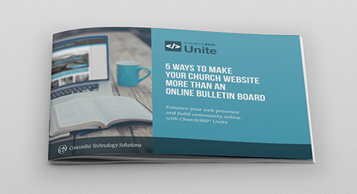 5 Ways to Make Your Church Website More than an Online Bulletin Board