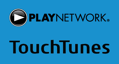 PlayNetwork and TouchTunes Complete Merger