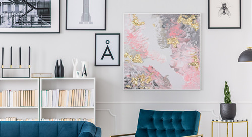 Réalisez un projet d'art abstrait avec la technique de peinture étalée