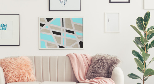 DIY Geometric Painting