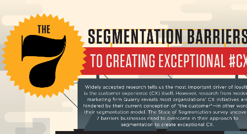 The Seven Segmentation Barriers to Exceptional CX