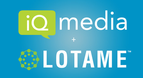 MediaPost: iQ Media, Lotame Join Forces To Aid TV Attribution
