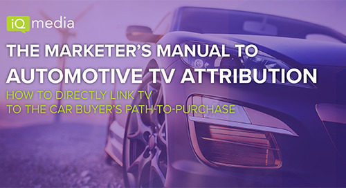 The Marketer's Manual to Automotive TV Attribution