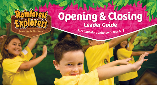 Opening/Closing Guide Sample | VBS 2020