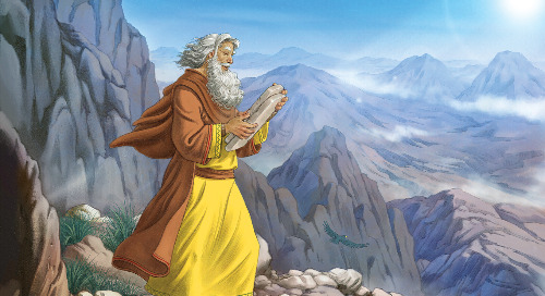 Day Two: God Gives the Commandments