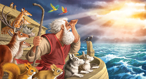 Day One: God Rescues Noah