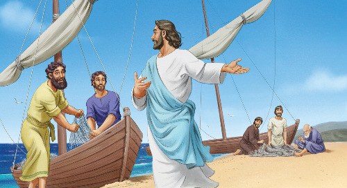 Day Three: Jesus Calls His Disciples