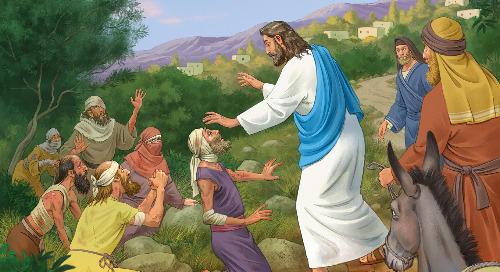 Day Four: Jesus Heals Ten Lepers