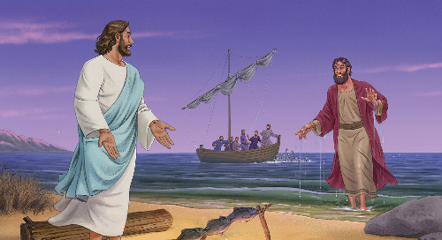 Day Five: Jesus Visits His Disciples