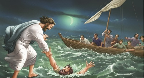 Day 2 | Jesus Walks on Water