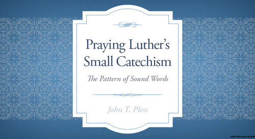 Praying Luther's Small Catechism Promotional Tools