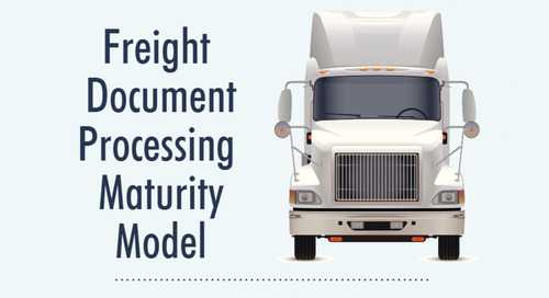Infographic: Freight Document Processing Maturity Model