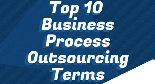 Top 10 Business Process Outsourcing Terms