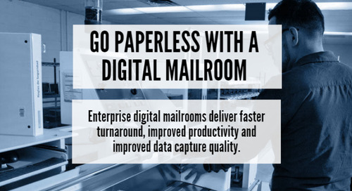 Digital Mailrooms Help Companies Eliminate Wasteful, Inefficient Paper Processes