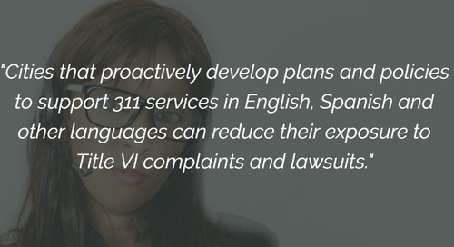 Cities Respond to Demand for Bilingual 311 Services