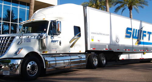 Swift Transportation Looks to Make Roads Safer with Truck Camera Systems