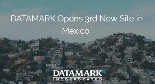 DATAMARK Incorporated Continues to Grow at a Fast Pace