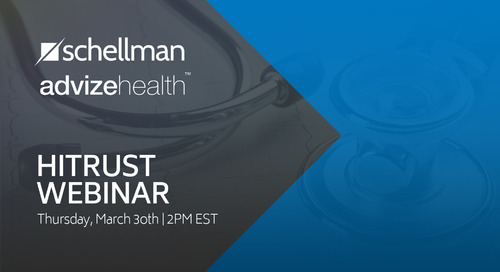 HITRUST Webinar with Advize Health