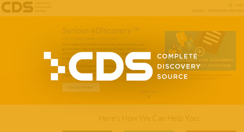 Complete Discovery Source: Differentiates Business With ISO 27001 Certification