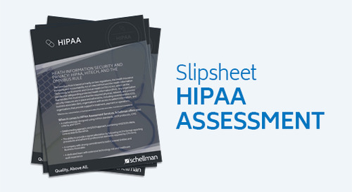 HIPAA Assessment Services