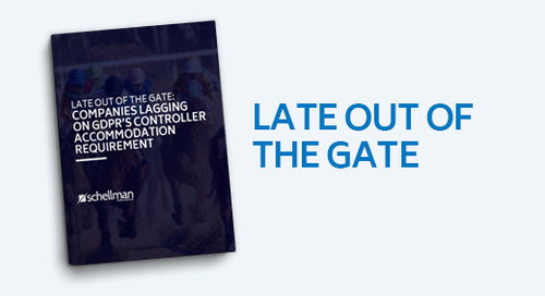 Late Out of The Gate: Companies Lagging on GDPR's Controller Accommodation Requirement