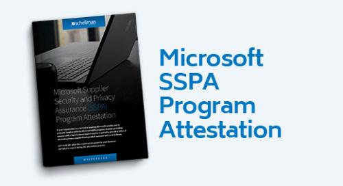 Microsoft SSPA Program Attestation