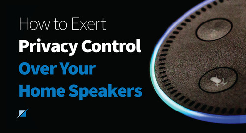 How to Exert Privacy Control Over Your Home Speakers