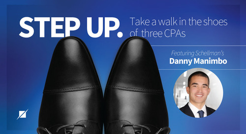 Step Up: Take a Walk in the Shoes of Three CPAs
