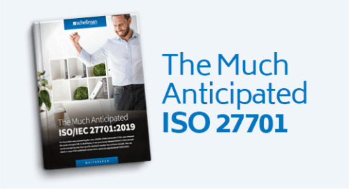 The Much Anticipated ISO 27701
