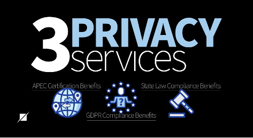 3 Privacy Services [Infographic]