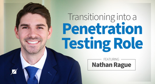 Transitioning into a Penetration Testing Role