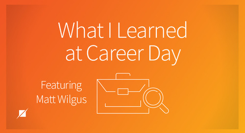 What I Learned at Career Day