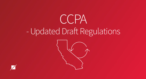 CCPA - Updated Draft Regulations