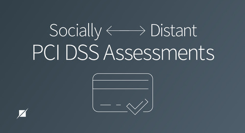 Socially Distant PCI DSS Assessments