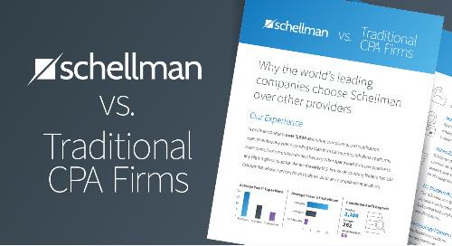Schellman vs Traditional Firms