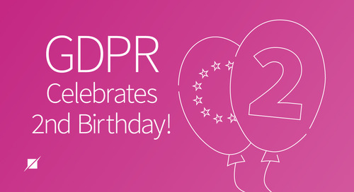GDPR Celebrates Second Birthday