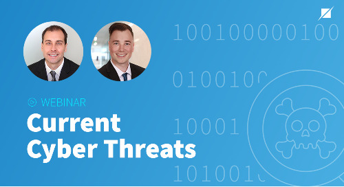 Current Cyber Threats